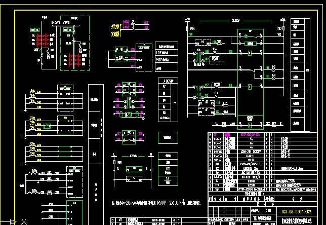 实例简述配电柜的二次接线流程