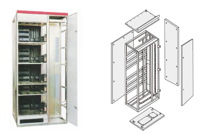 配电柜内部结构图